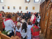 Serbare de Crăciun și Concert de colinde în Parohia Gepiu
