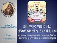"""Sesiune de comunicări științifice la  Liceul Ortodox """"Episcop Roman Ciorogariu"""" din Oradea"""