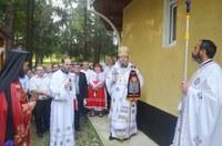 Sfânta Cruce cinstită la biserica Spitalului de Psihiatrie din Nucet