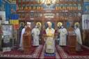 Sfântul Ierarh Nicolae cinstit prin Liturghie Arhierească  în parohia Sânnicolau Român