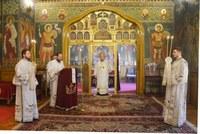 Sfântul Mare Mucenic Gheorghe cinstit la  paraclisul Reședinței Episcopale din Oradea