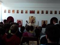 Sfântul Nicolae prăznuit la Liceul Ortodox din Oradea