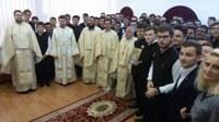 """Sfântului Apostol Iacov cinstit la Liceul Ortodox  """"Episcop Roman Ciorogariu"""" din Oradea"""