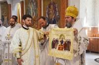 Sfinții Împărați Constantin și Elena cinstiți la Catedrala Episcopală din Oradea