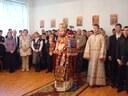 """Sfinţii Trei Ierarhi prăznuiţi la  Liceul Ortodox """"Episcop Roman Ciorogariu"""" din Oradea"""