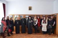 """Sfinții Trei Ierarhi sărbătoriți la  Liceul Ortodox """"Episcop Roman Ciorogariu"""" din Oradea"""