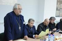 """Simpozion naţional """"Mărturisire şi Euharistie –  lucrări sfinte pentru restaurarea hristică a persoanei umane"""" la Oradea"""