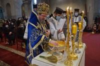 Slujba de Bobotează oficiată de Preasfințitul Părinte Sofronie la  Catedrala Episcopală din Oradea