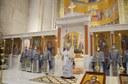 Slujire arhierească de sărbătoarea Soborului Preasfintei Născătoare de Dumnezeu  la Catedrala Episcopală din Oradea