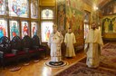 Slujire arhierească în paraclisul de la Reședința Episcopală din Oradea în Duminica a doua după Paşti