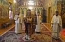 Slujire arhierească în paraclisul de la Reședința Episcopală din Oradea