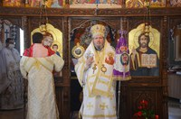 Slujire arhierească în parohia Băile Felix
