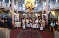 Slujire arhierească în parohia Tilecuș în Duminica după Nașterea Domnului