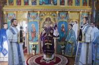 Slujire arhierească la Dicănești de Soborul Sfântului Prooroc Ioan Botezătorul