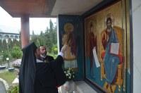 Slujire arhierească la Mănăstirea Sfânta Cruce din Oradea