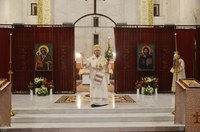 Slujiri arhierești ale Episcopului Oradiei la praznicul Învierii Domnului