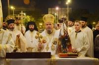 Slujiri arhierești la praznicul Învierii Domnului în Eparhia Oradiei