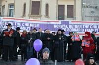 Solidaritate cu familiile aflate în suferință