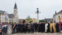Statuia Regelui Ferdinand I al României dezvelită și sfințită la Oradea