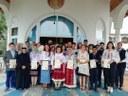 """Tabăra mitropolitană """"Tradiţie şi noutate"""" la Mănăstirea Sfânta Cruce din Oradea"""
