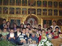 Taina Sfântului Maslu în parohia Sîrbi