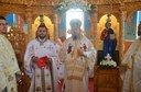 Târnosire de biserică şi Liturghie arhierească în parohia Călătani