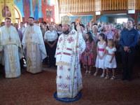 Tarnosirea bisericii din Gepiu Colonie