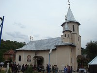 Târnosirea bisericii din Hinchiriş