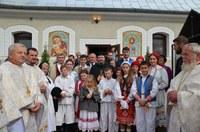 Târnosirea bisericii parohiale din Săliște de Vașcău