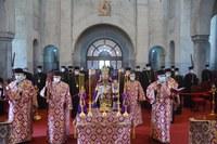 Te Deum la împlinirea a o sută de ani de la  hirotonia Episcopului Roman Ciorogariu al Oradiei