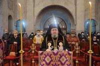 Ultima parte a Canonului cel Mare  la Catedrala Episcopală din Oradea