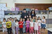 Zi de sărbătoare la grădinița Liceului Ortodox din Oradea