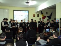 Ziua naţională a României marcată la Liceul Ortodox din Oradea