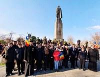 """Ziua Naţională a României sărbătorită la Liceul Ortodox  """"Episcop Roman Ciorogariu"""" Oradea"""